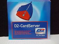 D2 -cardserver, Lector de tarjetas para D2 PDA, incl. software