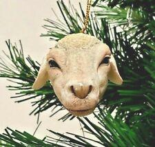"Sheep Head Christmas Ornament 2.5"" Slavic Treasures"