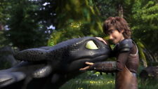 """020 How to Train Your Dragon 3 - The Hidden World Hiccup Movie 42""""x24"""" Poster"""