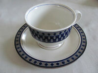 Mikasa Potter's Touch Aztec Blue CB009 - Cup(s) & Saucer(s) - Up to 3 Avail