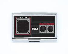 Porte Carte de Crédit / Visite retro gamepad jeux gaming Boîte Rigide en acier