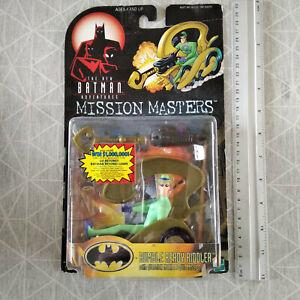 BATMAN ANIMATED - HASBRO -  mission masters - RIDDLER