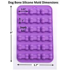 Mini Bone Pet Dog Paw Silicone Soap mold Candy Chocolate Fondant Tray ICE Cube