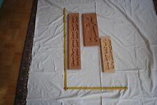 3x Spekulatius Backform, Holzmodel