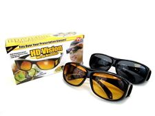 HD Vision Wraparound Sunglasses AS SEEN ON TV and Night Vision Glasses COMBO