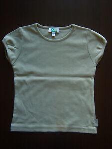 T-shirt manches courtes Vertbaudet kaki, 8 ans