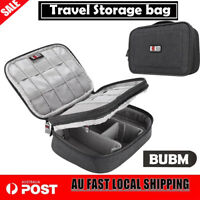 BUBM Electronic Accessories Cable Organizer Bag Travel USB Charger Storage Case