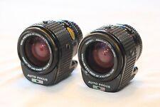 2- Pentax AF 35-70mm f2.8 lenses *RARE* *Read Description!*