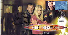 "Doctor Who ""Rose"" Episode Collectable Stamp Cover - Signed by ALAN RUSCOE"