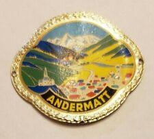 Andermatt, SwitzerlandWalking Stick Stocknagel, Hiking Medallion, Nos145