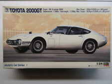 Hasegawa Vintage 1:24 Scale Historic Toyota 2000GT Model Kit - New - # 21201