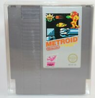 Metroid NES Nintendo Authentic, Cleaned, & Tested! Great Condition! NICE!