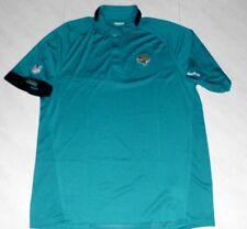 Jacksonville Jaguars Sideline Stay Dry Polo Shirt XL Reebok NFL Embroidered NFL