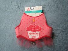 "New listing Dog Dazzlers Pink ""Birthday Girl"" Harness Puppy/Dog, Medium"