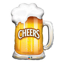 Party Supplies Birthday Shape Foil Balloon Cheers Beer Mug
