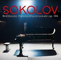 "GRIGORY SOKOLOV - KLAVIERSONATE 29 OP.106 ""HAMMERKLAVIER""   CD NEU BEETHOVEN"