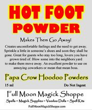 Hot Foot Powder Repels Others Banish Enemies Annoying People Voodoo Hoodoo Dust