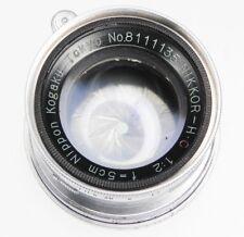 Nikkor 5cm f2 Coll. Leica SM  #8111135