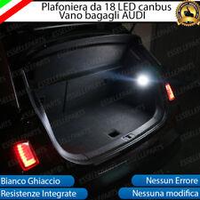 SET PLAFONIERA COMPLETA A LED AUDI Q3 VANO BAGAGLI 6000K BIANCO INTERNI