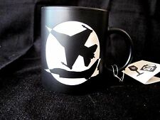 New Fighter Jet Coffee Tea Cup Mug W/Etched Design Made By Old Town Mug With Tag