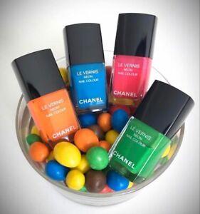 chanel nail polish NEON FANTASTIC ELECTRIC MAGNETIC ULTRASONIC LE 2017 RARE