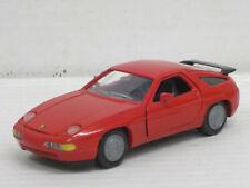 Porsche 928 S4 in Red, NZG, without original box, 1:43