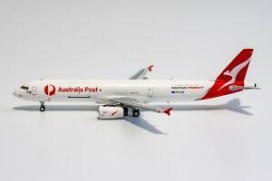 NG Model 1:400 Qantas Freight Airbus A321-200(P2F) 'Australia Post' VH-ULD