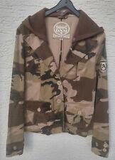 9886 DNM - Camouflage Jacke Blazer mit abn. Kapuze - Gr.S