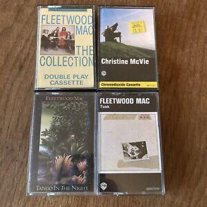 Fleetwood Mac Tango In The Night Tusk Collection +1 Cassette Tape Album Bundle