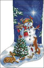 """""""Christmas Stocking #39"""" Cross Stitch Pattern Chart"""