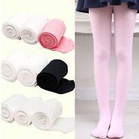 US STOCK Kids Children Ballet Dance Tights Footed Seamless Girls and Ladies All