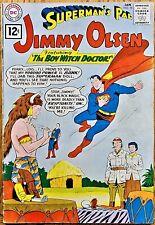 "SUPERMAN'S PAL JIMMY OLSEN #58 (1962) ""The BOY WITCH DOCTOR!"""