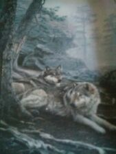 """""""The Wolves Lie Low"""" Nature's Harmony The Bradford Exchange. Plate# 2344E"""