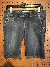 O'Neill Womens Size 7 Jean Shorts 32 In Waist 18 In Length, EUC, #11