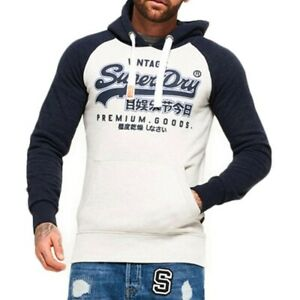 Superdry XL Mens Hoodie - Brand New with Tags