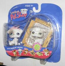 Littlest Pet Shop Little Boy & Girl Poodle Puppy Dogs 203 & 204 MIP BRAND NEW