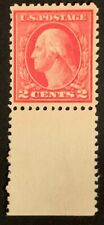 Travelstamps: 1917 US Stamps Scott #499 TYPE I  Mint No Gum W/Selvage Rose