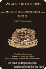 MAITAKE D fraction MUSHROOM Grifolan Extract Powder 100 g., ≥ 50% Polysaccharide