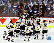 "Boston Bruins 2011 Stanley Cup Celebration Photo NS209 (Size: 11"" x 14"")"