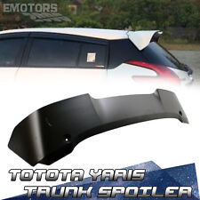 Unpainted For TOYOTA Yaris 3rd Hatchback T Type Roof Spoiler L SE 2016