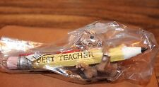 Midwest of Cannon Falls Mouse Holding a Pencil Best Teacher Tree Ornament