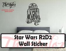 Star Wars R2D2 LifeSize Oversize Wall Vinyl Sticker