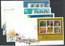 More details for ten british first day covers house of lords / commons all christmas fdc 2004/09