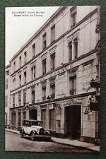 CPA ou CPSM. CHAUMONT. 52 - Grand Hôtel de France. Belle Automobile.