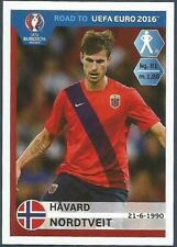 PANINI ROAD TO UEFA EURO 2016- #179-NORWAY-HAVARD NORDTVEIT
