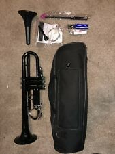 Allora ATR-1301 Aere Series Plastic Bb Trumpet - Black
