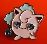 Pokemon Jigglypuff Weed Pin Enamel Brooch Lapel Badge Cosplay Gift POGO Gaming