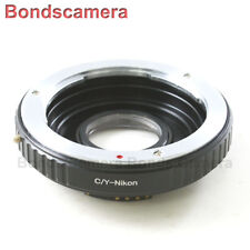 AF Confirm Contax Yashica C/Y Mount Lens to Nikon F Optical Adapter D750 D810