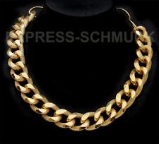 Statement Panzerkette Kette Halskette Gliederkette Königskette Modeschmuck Neu