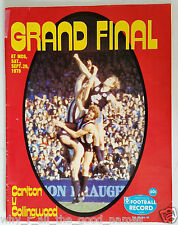 VFL Football Record 1979 GRAND FINAL CARLTON BLUES Souvenir MCG Program AFL [B]